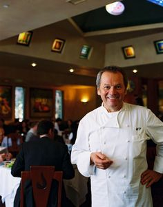 Wolfgang Puck in Spago's Restaurant along the Sunset Strip in Hollywood, Calif. - Didn't see him while having dinner there but I did see Lanie Kazan (My Big, Fat, Greek Wedding) and Dabney Coleman.