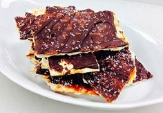 2015 Taste of Solon   Recipe from Market District Solon   Salted Caramel & Dark Chocolate Matzo Recipe   www.solonchamber.com