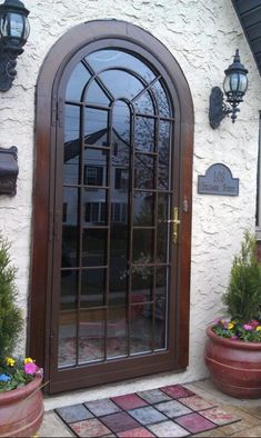 Charmant HM 150 Full Arch Top Security Storm Door