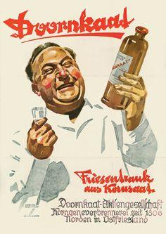 Ludwig Hohlwein, Doornkaat Poster, 1948
