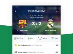 Sports App by Alexey Tretina
