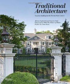 """The """"Stone Mansion"""" in Alpine, New Jersey. The grand entry at the Frick Estate, a new stone mansion in Alpine, N. March Interior designer Terence Mack of Sparkill did the interior design and staging at the house. Front Gates, Entrance Gates, Entrance Ideas, Future House, My House, Stone Mansion, House Goals, My Dream Home, Exterior Design"""