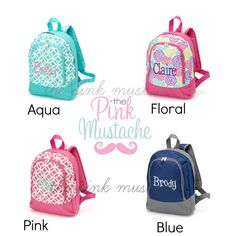 Hey, I found this really awesome Etsy listing at https://www.etsy.com/listing/192532202/monogrammed-preschool-backpack-toddler