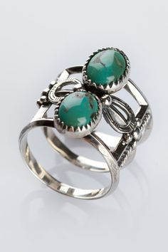 turquoise finger cuff