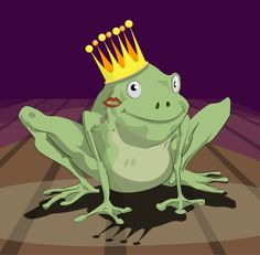 """Frog Prince"" - would make an adorable bridal shower/bachelorette theme!  'Course, can't throw one for myself!"