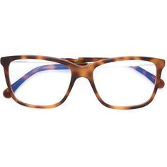 528d53b652b Chanel square frame glasses (£365) ❤ liked on Polyvore featuring  accessories