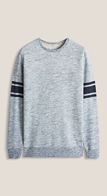 The Esprit Online-Shop offers a large selection of high quality fashions for men, women and children as well as the latest fashion accessories and furnishings. Mens Sweatshirts, Fashion Accessories, Men Sweater, Mens Fashion, Tokyo, Sweaters, Cotton, Jackets, College