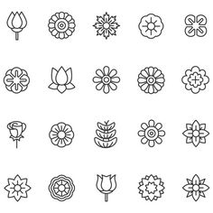 Nagel stamping Themed Wedding ceremony Costume, Go The place Your Thoughts Leads You Each bride has Vector Flowers, Flower Clipart, Flower Vector Art, Free Vector Graphics, Free Vector Art, Vector Icons, Mini Tattoos, Nagel Stamping, Flower Symbol