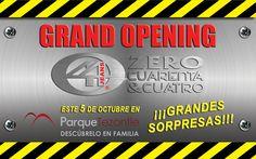 Inauguración 5 de Octubre, Parque Tezontle