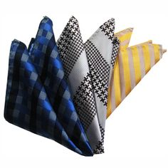 @Overstock.com - These elegant pocket squares from Dmitry feature a luxurious Italian silk construction. Hand-rolled edges and rich patterns complete this pack of three stylish pocket squares.http://www.overstock.com/Clothing-Shoes/Dmitry-Mens-Italian-Silk-Pocket-Squares-Pack-of-3/7718741/product.html?CID=214117 $24.99