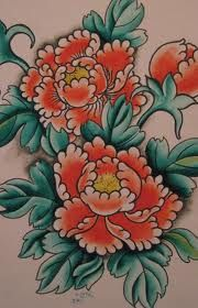 traditional tattoo peony - Google Search