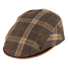 Bailey Hats Menaker Flat Cap - Brown from Village Hats. Bailey Hats e6b2a5a0d043