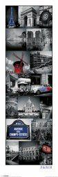 Paris (Collage) Mount Everest, Collage, Posters, Slim, Paris, Mountains, Nature, Travel, Viajes