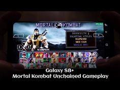 Galaxy S8 Mortal Kombat Unchained Gameplay - PSP emulator - Andrasi.ro