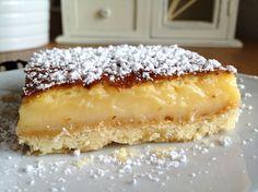 tarta de limon fria recetas de postres receta delikatissen postres sencillos postres fáciles y rápidos postres fáciles postres Lemon squares recetas americanas bizcocho de yogur aprender a cocinar