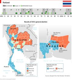Explaining Thailand's Volatile Politics - additional graphs [GDP / GNI (gross national income) per person / population] in the link  | 29 January 2015, by THE DATA TEAM The Economist