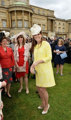 Kate Middleton - Buckingham Palace Hosts a Garden Party
