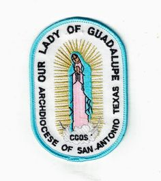 Our Lady of Guadalupe Award Girl Scout Patches, Scouting, Our Lady, Girl Scouts, Catholic, Awards, Faith, Virgen De Guadalupe, Girl Guides