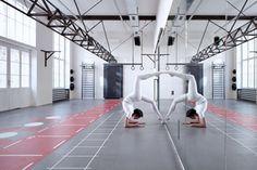 GYM by BoysPlayNice Photography Architects: Petr Moráček ( www.mimosa.cz ), Leoš Horák  Performance: Kryštof Šimek  Photography: BoysPlayNice.com ( Jakub Skokan & Martin Tůma )