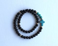 Rosary Bracelet by TheSofShop on Etsy