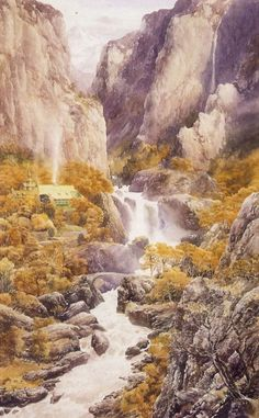 Alan Lee - Rivendell