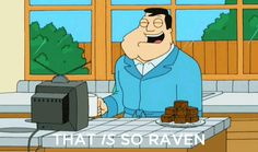 "Stan Smith drinking #coffee ""That IS so Raven"""