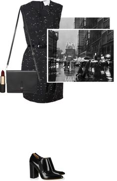 """black - pillip lim"" by letterelle ❤ liked on Polyvore"