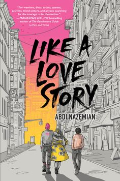Cover Reveal: Like a Love Story by Abdi Nazemian - On sale June Ya Books, Good Books, Books To Read, Book Cover Design, Book Design, Design Art, Graphic Design, Layout Design, Editorial Illustration
