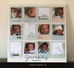 Un joli cadre (Photos sur toile . Mini Albums Scrap, Love Home, Baby Love, Photos, Home Decor, Daily Journal, Cadre Photo, Canvas, Pictures