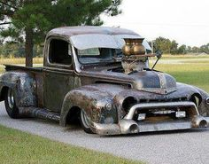 really cool Rat Rod!