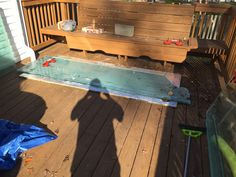 """Got it taken apart. Going to have to cut 30"""" off. End result will be 500 gallons."""