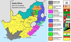 SouthAfrica map showing province capital city road airports