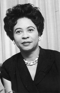"Daisy Bates – ""Civil rights activist, publisher, journalist. In 1957, she helped nine African American students to become the first to attend the all-white Central High School in Little Rock, who became known as the Little Rock Nine. She and her husband also started the Arkansas State Press - a voice for Civil rights, even before the nationally recognised movement had emerged."""