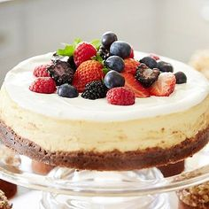 Mary Berry's American Baked Cheesecake - from Lakeland
