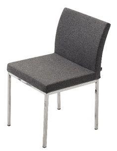 Soho Concept Aria Chrome Chair Side Chair Dining Chair