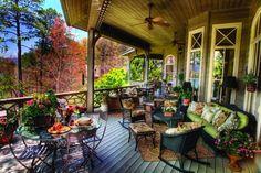 Beautiful Wrap Around Porch...