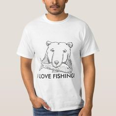 Upgrade your style with Fishing t-shirts from Zazzle! Browse through different shirt styles and colors. Search for your new favorite t-shirt today! Fishing T Shirts, Shirt Style, Fitness Models, Shirt Designs, Funny Quotes, Valentines, My Love, Mens Tops, How To Wear