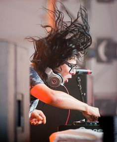 Skrillex  at the HangOut Music Festival  Alabama May 2012