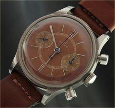 OMEGA crono ref. CK2077 brown dial  Anno: 1942