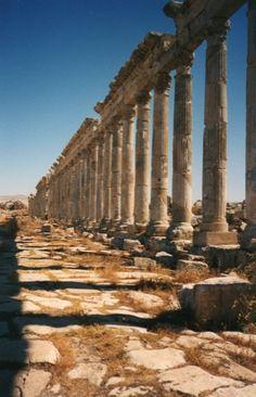 Palmyre en juillet 1998 - Il nous reste les photos après la destruction systématique des ruines de l'ancienne ville de Palmyre en Syrie par l'état islamique