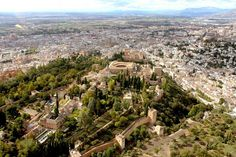 Explore the #Alhambra by foot and take to the skies to enjoy breath taking views of #Granada #SierraNevada