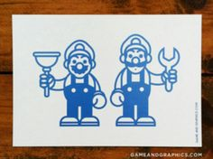 Awesome postcards done ab game andgraphics.com