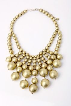 Beautiful gold baubles.
