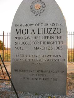 "Forgotten Memorials: The Conscience of Viola Liuzzo and the ""Heroism"" of the KKK 