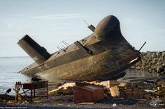 pinterest.com/fra411 #decayed - The Leaning Submarine