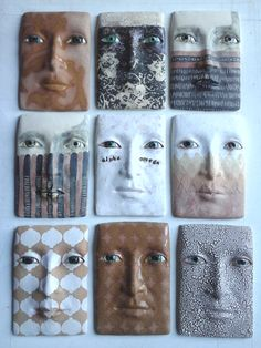 Variations on a theme #wallsculpture