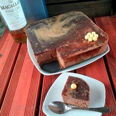"Mocha Mousse Slice ~ a wonderful dessert via this blog, ""Golosolandia: Tartas y postres caseros""."
