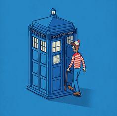 Mais ou est Doctor Who Chen, Tardis, Cultura Pop, Doctor Who, Comic Art, Illustrators, Pop Culture, Mystery, Nerd