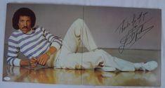 Lot Detail - Lionel Richie Autographed Self-Titled Debut LP Cover Lionel Richie, Lp Cover, American Idol, Self, Detail