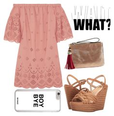 """""""wait what?"""" by sweet-jolly-looks ❤ liked on Polyvore featuring Madewell, Lust For Life, Neiman Marcus, cute, simple, summerdress, outfits and 6pm"""